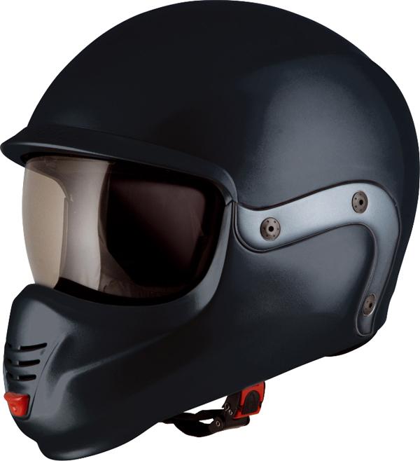 Suomy 3LOGY modular helmet double omologation p-J black