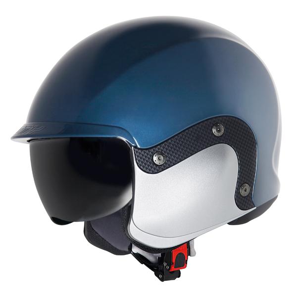 Suomy 3LOGY modular helmet double omologation p-J blue