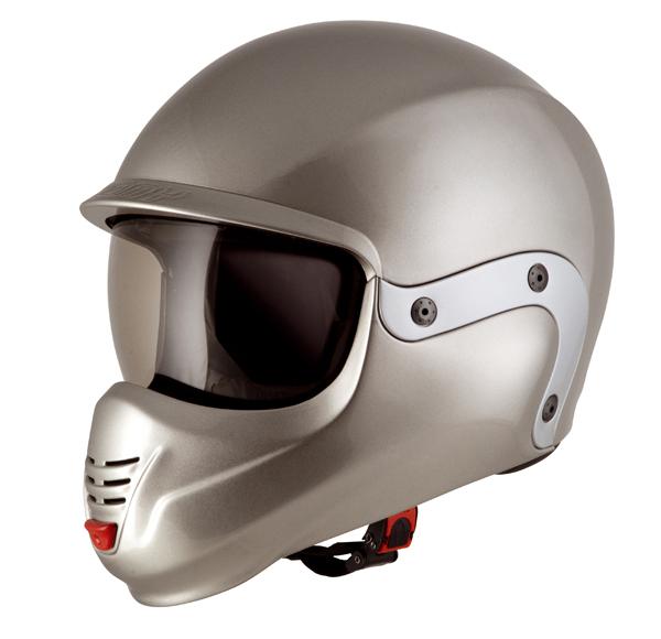 Suomy 3LOGY modular helmet double omologation p-J silver