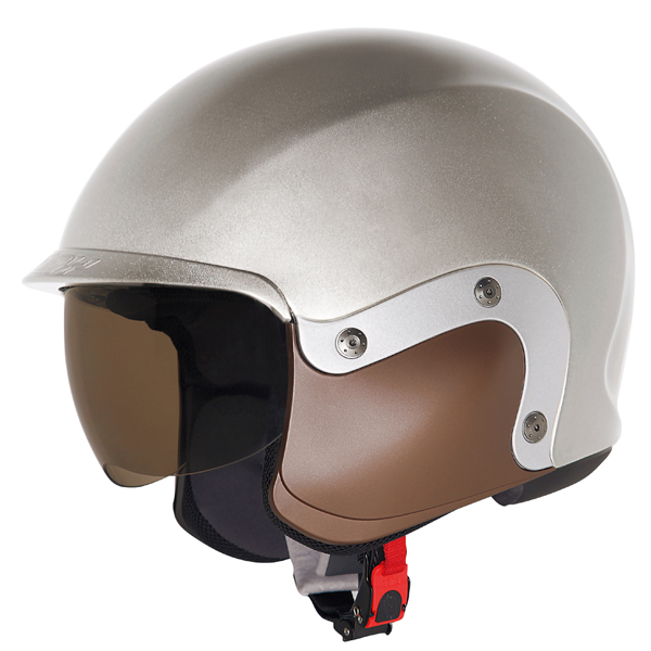 Suomy 3LOGY modular helmet double omologation p-J silver
