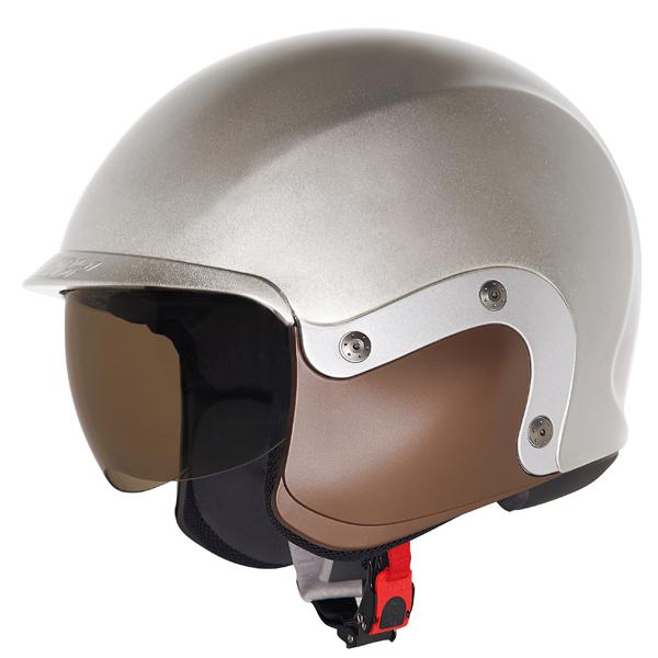 Cover guancia per casco Suomy 3LOGY marrone