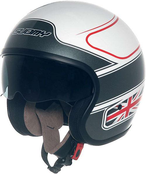 Suomy Jet 70's UK Flag jet helmet