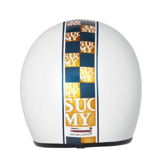 Suomy Jet 70's Chic White jet helmet
