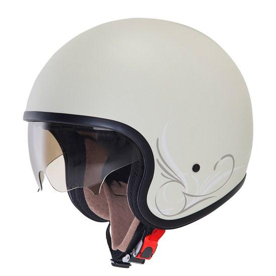 Suomy Jet 70's Custom Milk jet helmet