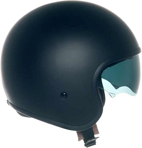 Suomy Jet 70's Plain jet helmet black matt