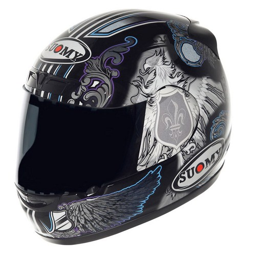 Casco moto Suomy ApeBlack Angel