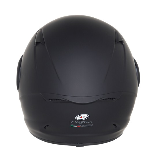 Casco moto Suomy City Tour nero opaco