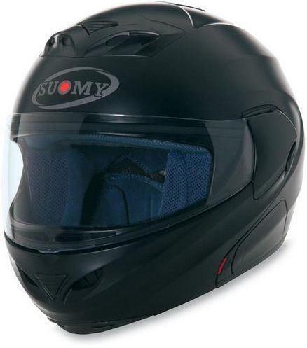 SUOMY D20 Plain Helmet - Col. Matt Black