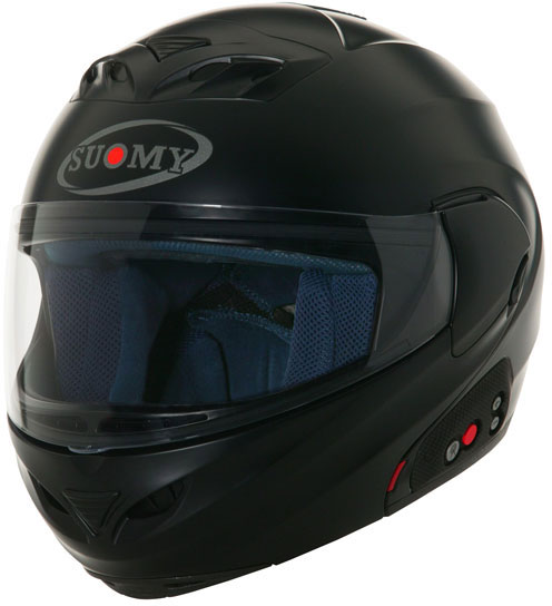 SUOMY D20 + SCS Plain open-face helmet  black matt