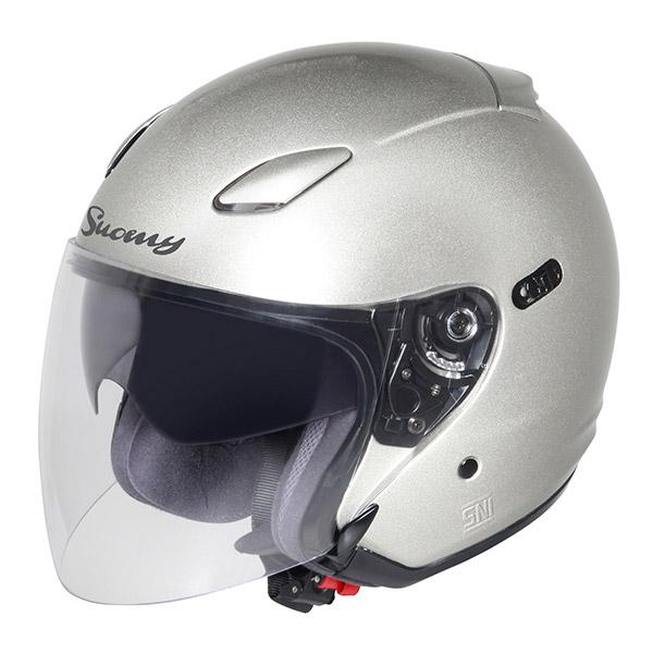 Suomy Inc-State jet helmet silver