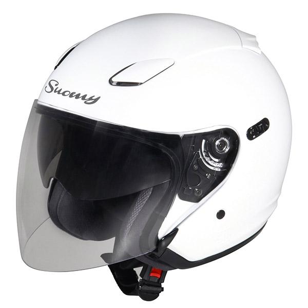 Casco moto jet Suomy Inc-State bianco