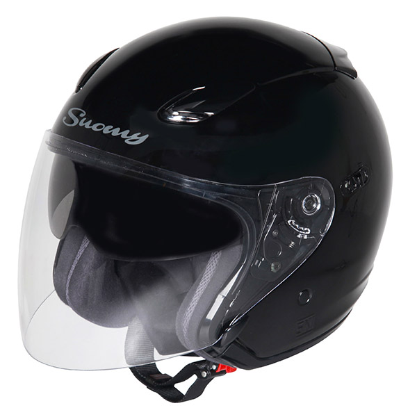 Casco moto jet Suomy Inc-State nero