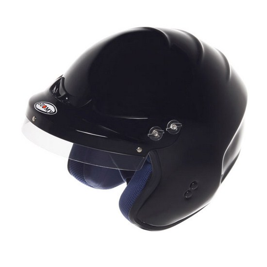 Casco moto Trial Suomy Freewind Plain nero