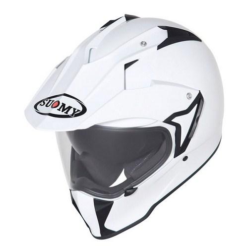 Suomy MX Tourer Mono white enduro helmet