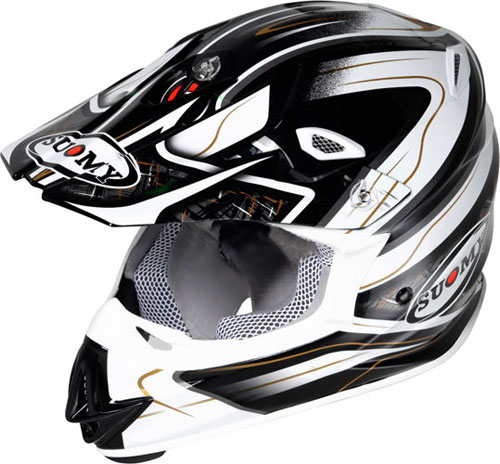 Suomy MR Jump Black Magic cross helmet