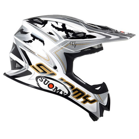 Casco moto cross Suomy MR Jump Catwalk grigio