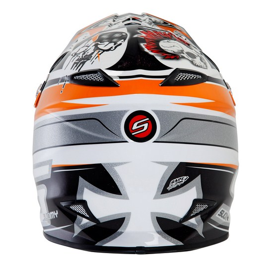 Suomy MR Jump Lazyboy Orange enduro helmet