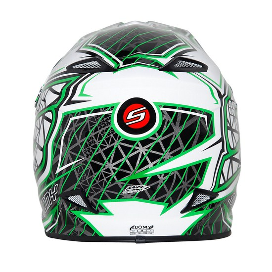 Suomy MR Jump S-Line Green enduro helmet