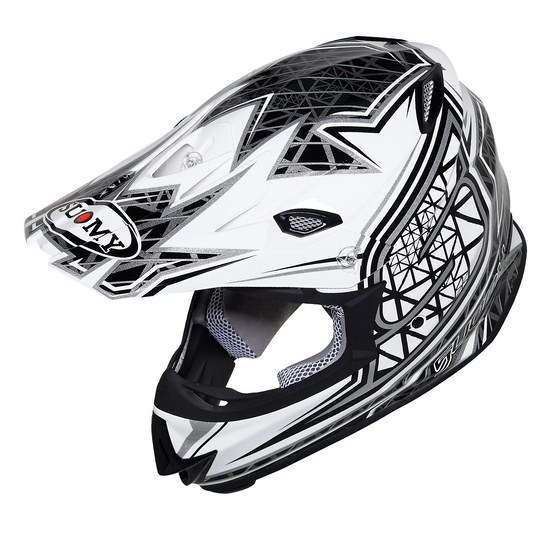Casco moto cross Suomy MR Jump S-Line Sparkling