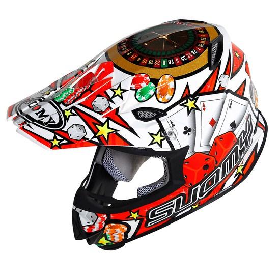 SuomyMR Jump Jackpot White enduro helmet