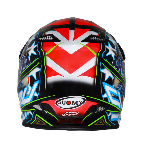 Suomy MR Jump Eagle offroad helmet black