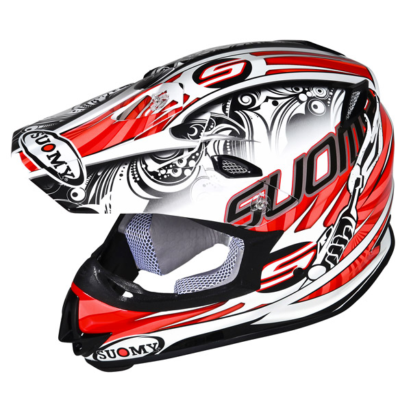 Casco moto cross Suomy MR Jump Molotov arancio