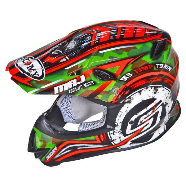 Casco moto cross Suomy MR Jump Assault