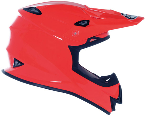 Casco moto cross Suomy MR Jump Plain arancio
