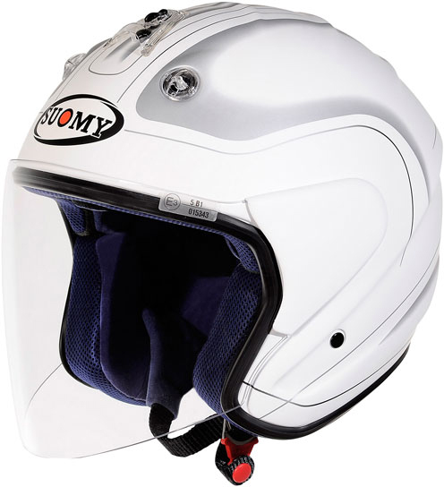 Casco moto jet Suomy Nomad Club Matt
