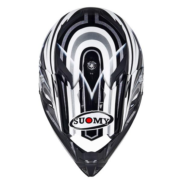 Suomy Rumble Vision ffroad helmet silver