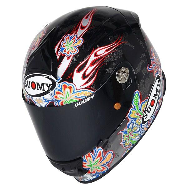 Casco moto Suomy SR Sport Flower