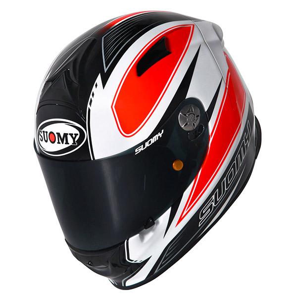 Casco moto Suomy SR Sport Shape arancio
