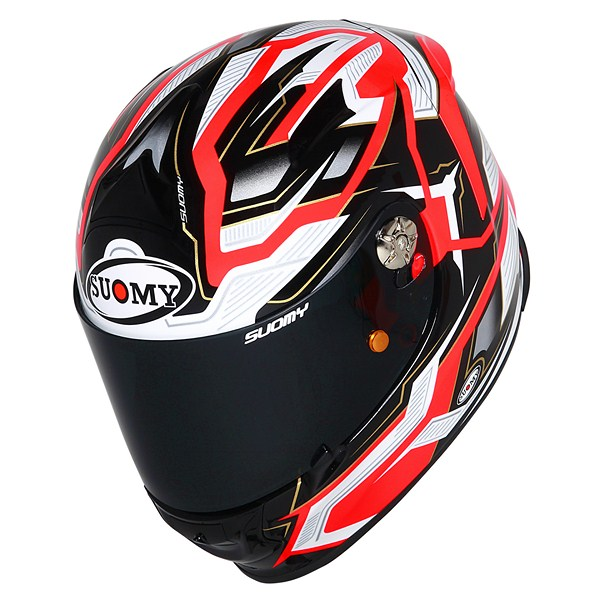 Casco moto Suomy SR Sport Diamond arancio