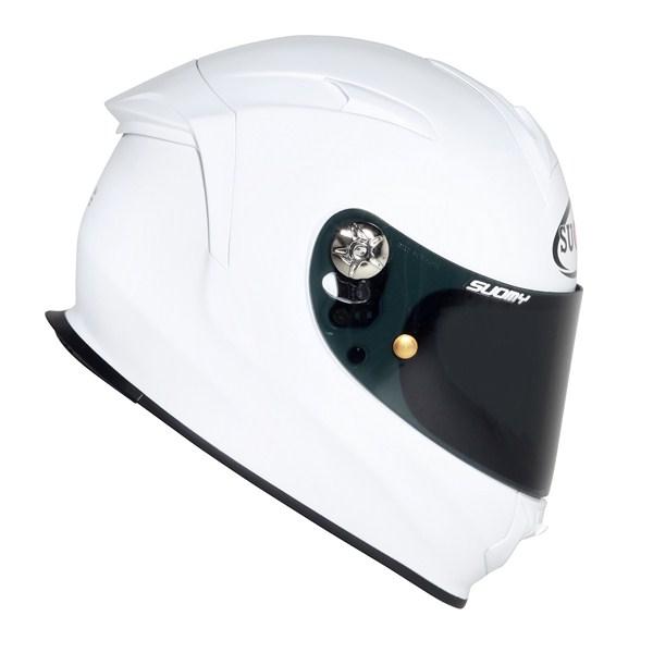 Casco moto Suomy SR Sport Plain bianco