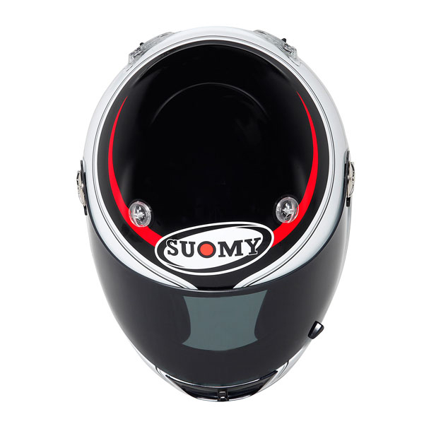 Casco moto Suomy Vandal Royal rosso