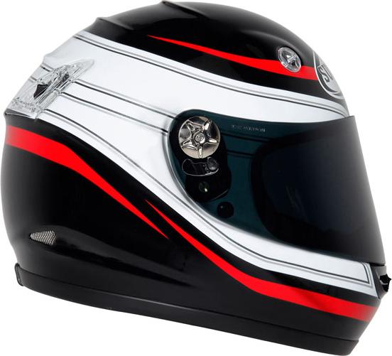 Suomy Vandal Royal red full-face helmet