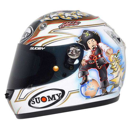 Suomy Vandal Max Biaggi World Champion 2012 fullface helmet