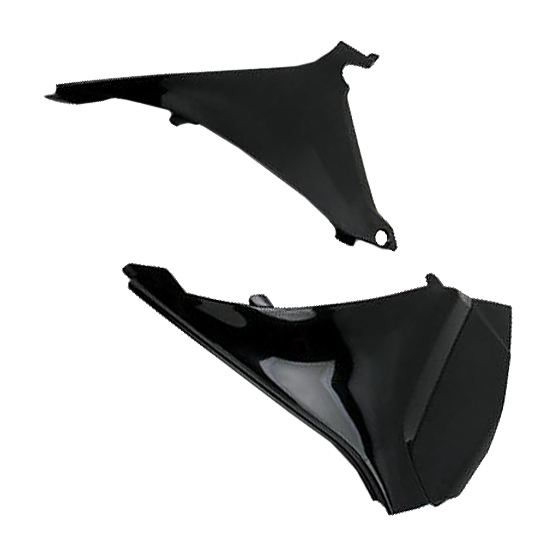 Air box cover Ufo per KTM SX 2011 e EXTC 2012 2013 Nero