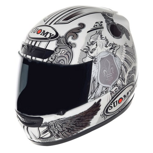 Casco moto Suomy ApeWhite  Angel