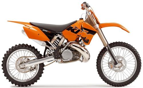Kit plastiche moto Ufo KTM SX-SXF 2004 BluReflex
