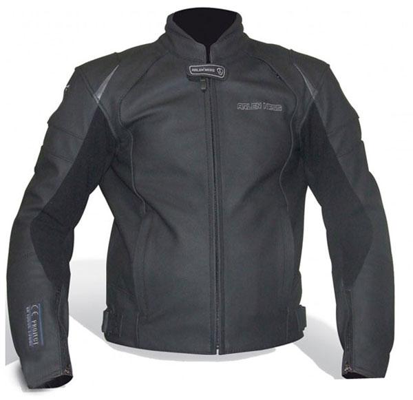 Arlen Ness leather jacket Black