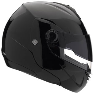 AGV Longway II Flip-Up Helmet - Col. Gloss Black