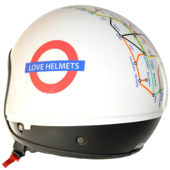 Cover Subway Egg casco componbile Love Helmet