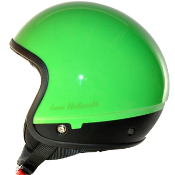 Cover Unie verde per casco componbile Love Helmet