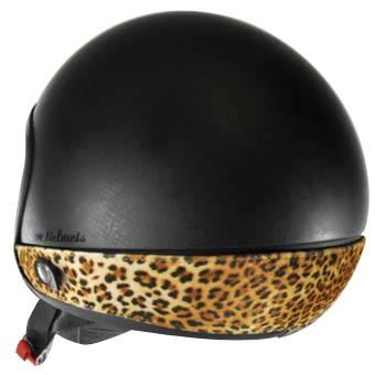 Love Helmet neck cover Leopard