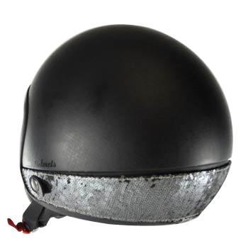 Neck Cover per casco Love Helmet paillettes gunmetal