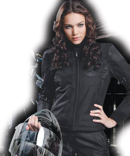 Giacca moto donna LS2 Apparel 4 SEASONS Ladies Nero