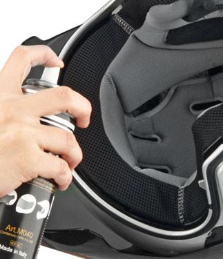 OJ Foam Spray cleaner for the inner part of the helmets
