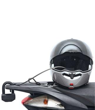 OJ Antitheft helmet cable lock