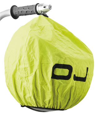 OJ Universal cover for helmet yellow fluo